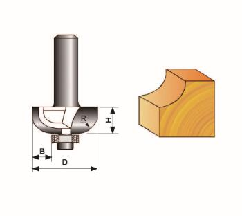 Cove Bit With Bearing