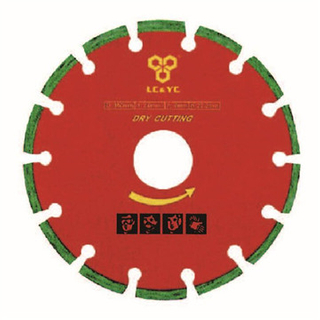 Segment Diamond Saw Blade For Dry Cutting LC0701